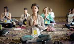practicando la meditacion en el trabajo