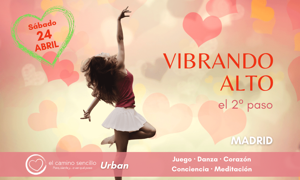 VIBRANDO ALTO · 2º paso · MADRID · 24 Abril 2021