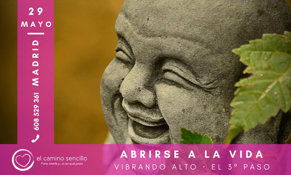 ABRIRSE A LA VIDA · VIBRANDO ALTO · 3º paso · MADRID · 29 Mayo 2021
